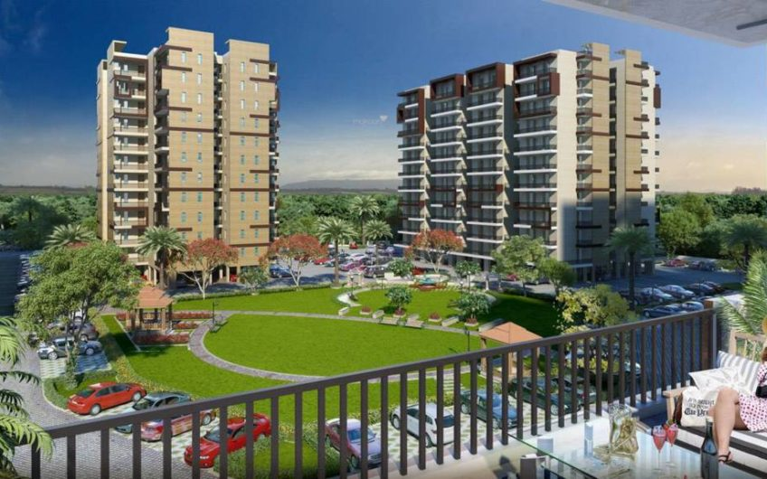 Highland Park- 2 BHK, 3 BHK and 4 BHK flats in Zirkapur near Airport mktd by Dewan Realtors