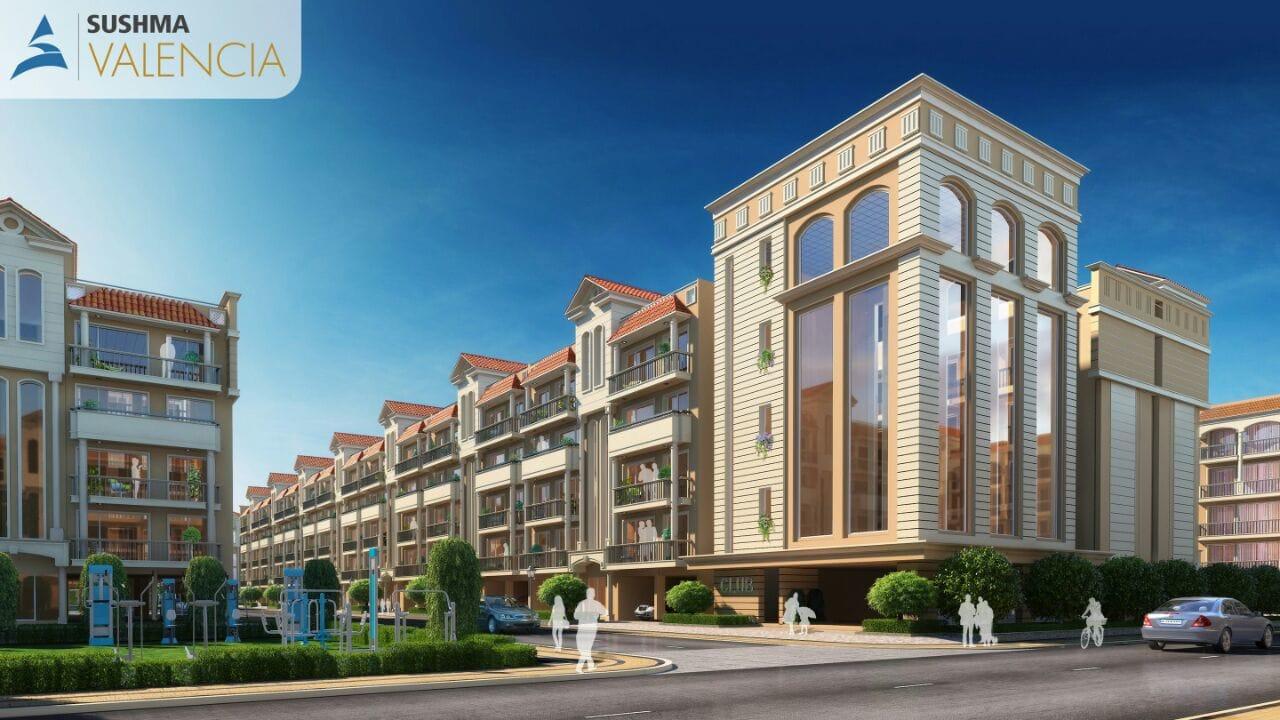 Sushma Valencia - Flats in Zirakpur - Dewan Realtors - Best property dealer in Zirakpur