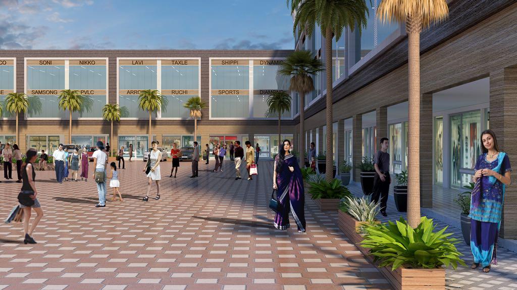Aero Arcade - Commercial in Mohali - Shops, showrooms, booths in Aerocity. Dewan Realtors