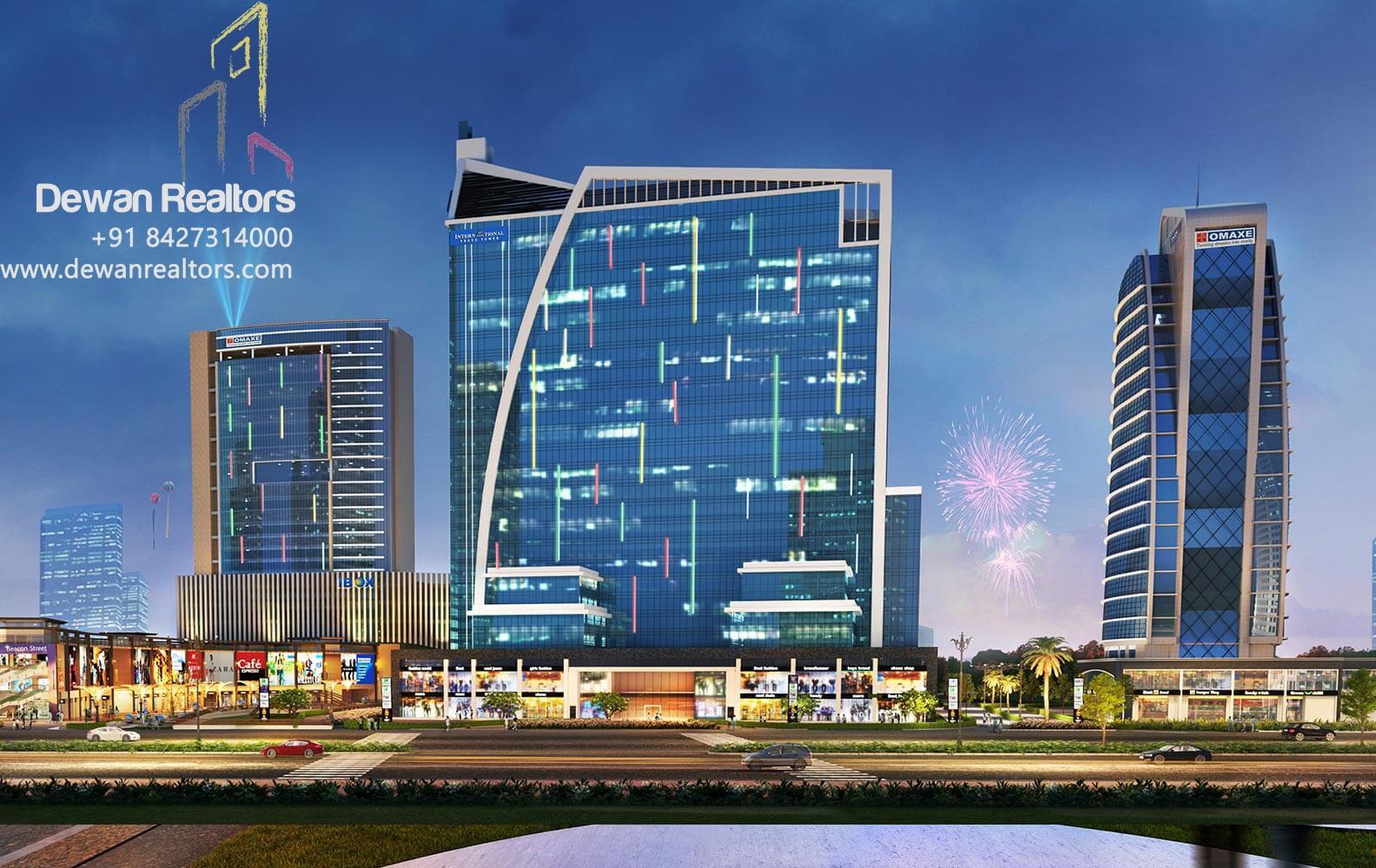 Omaxe Beacon Street, New Chandgarh, Mullanpur - Commercial in Chandigarh, Shops in Chandigarh, Showrooms in Chandigarh