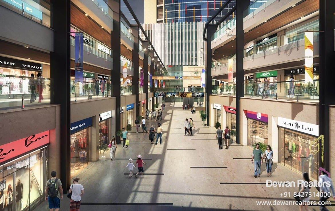 Omaxe Beacon Street - Commercial in New Chandigarh | +91