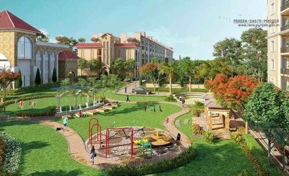 SBP Gateway of Dreams - 2BHK, 3BHK flats in Zirakpur - Dewan Realtors
